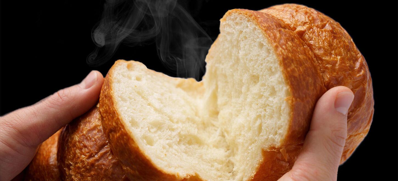 焼きたて高級食パン